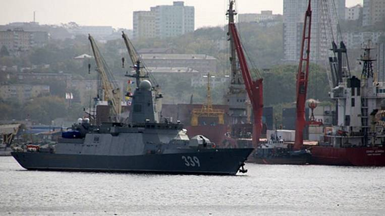 The newest corvette will join the Pacific Fleet in Vladivostok