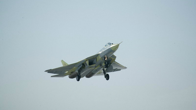The first Su-57 was transferred to the Russian Aerospace Forces in Komsomolsk-on-Amur