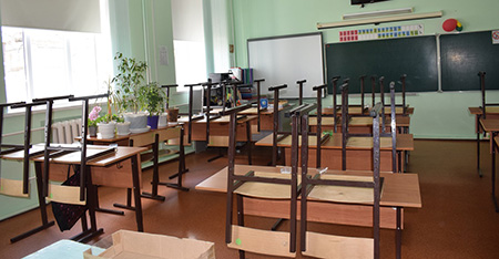 Early holidays will be introduced in schools of Irkutsk due to coronavirus