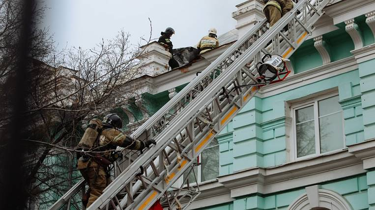 A patient who underwent surgery during a fire was discharged from the Amur region