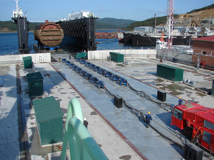 """The future """"nuclear burial ground"""" blew Primorye"""