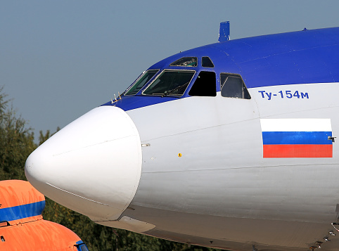 Tu-154 made the last civil flight from Yakutia
