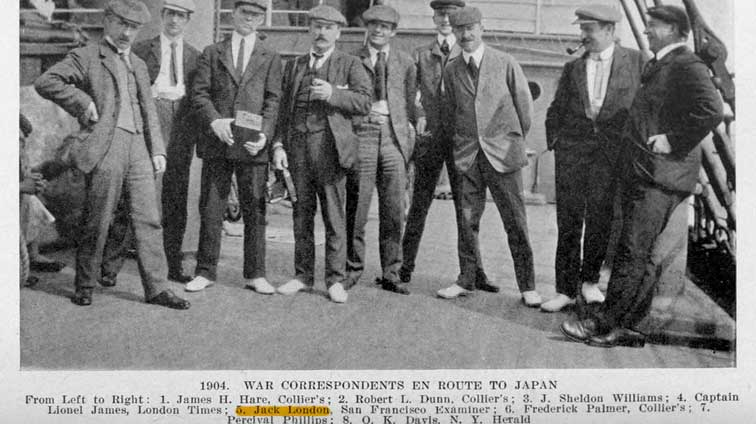 Jack London in the Russian-Japanese War