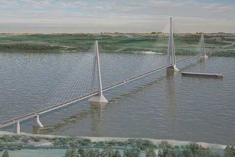 The Ministry of Transport left the Lensky Bridge without federal money
