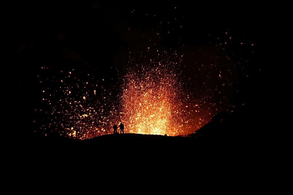 Photo by Yuri Demyanchuk. Volcano Tolbachik. Lava gushing in Naboko Crater 2013 g.JPG