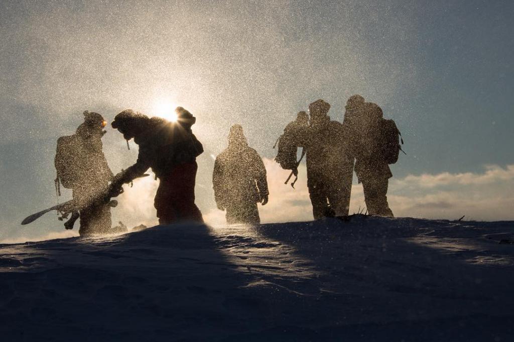 At the start. Photo Snow valley @ snowvalleykamchatka.jpg