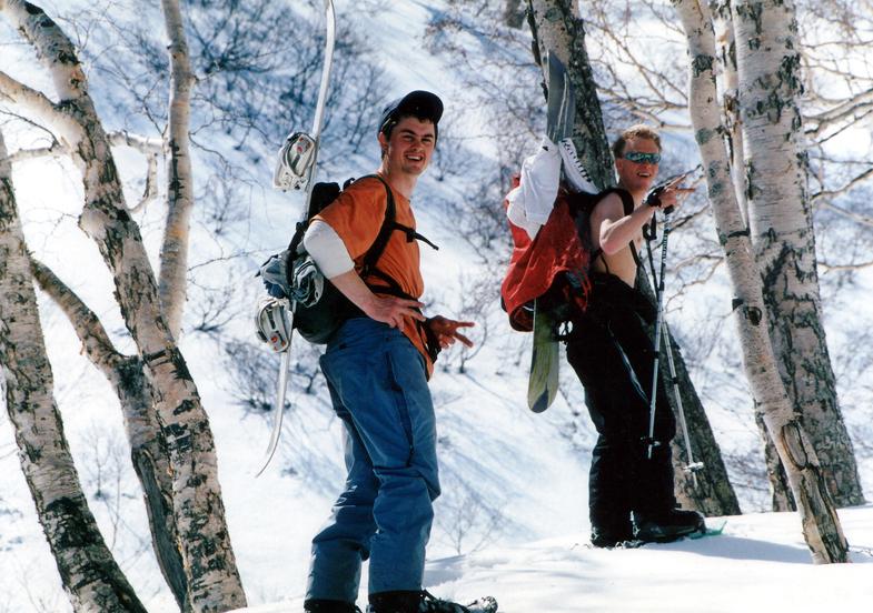 Alexandre Moroz and Maxim Balakhovsky, 2001 year. Photo Victor Gumenyuk.jpg