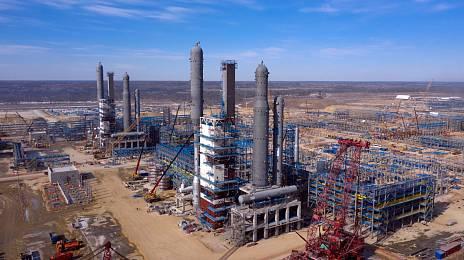 Amur GPP: the largest construction of the Far East