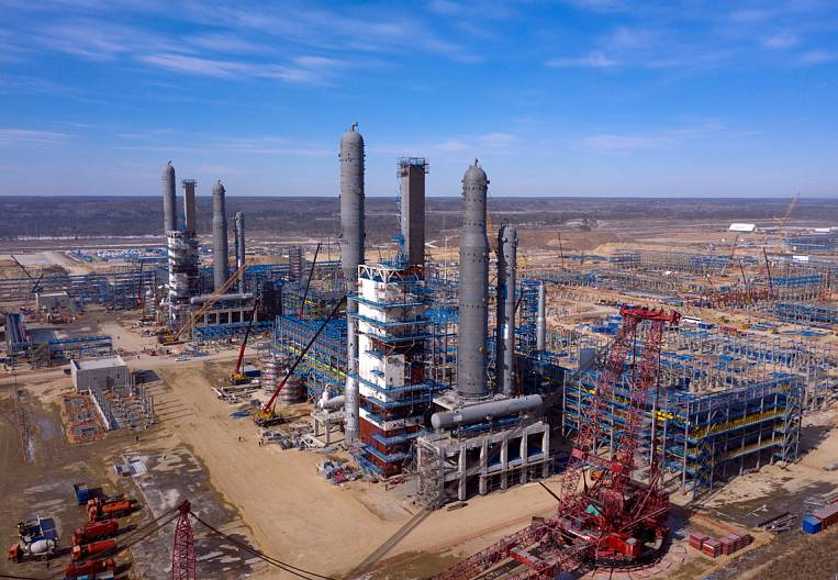 Amur GPP: the largest construction of the Far East