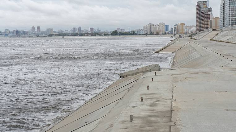Emergency mode introduced due to floods in Khabarovsk