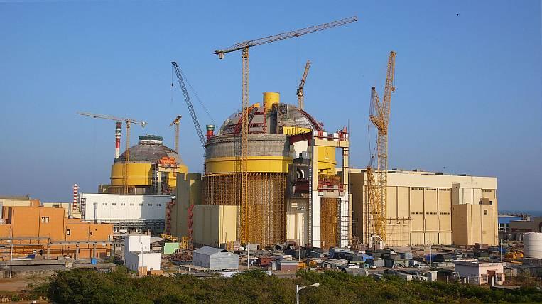 Путин принял участие впередаче Индии первого энергоблока свежей АЭС