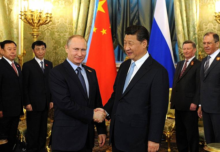 Russian-Chinese view of the world