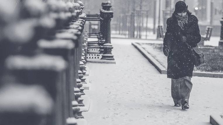 Storm warning due to snowfall announced in Transbaikalia