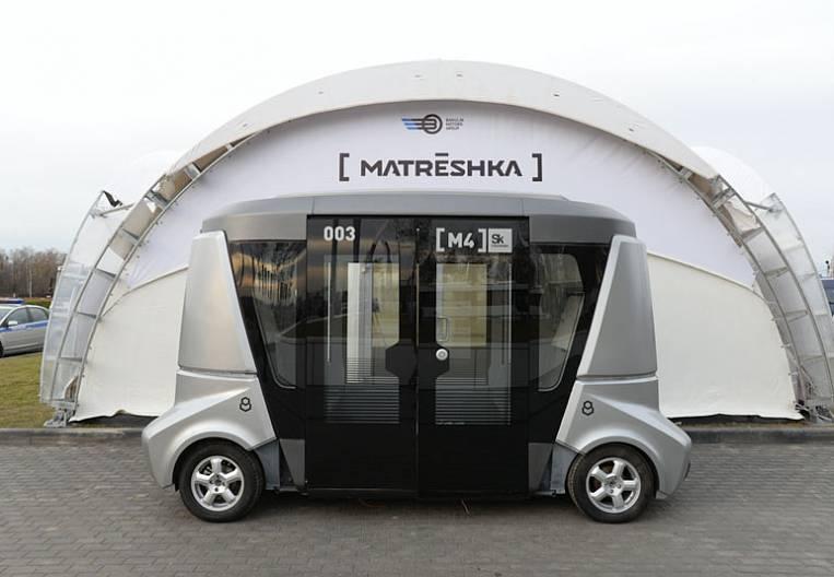 Robots found a place in Vladivostok