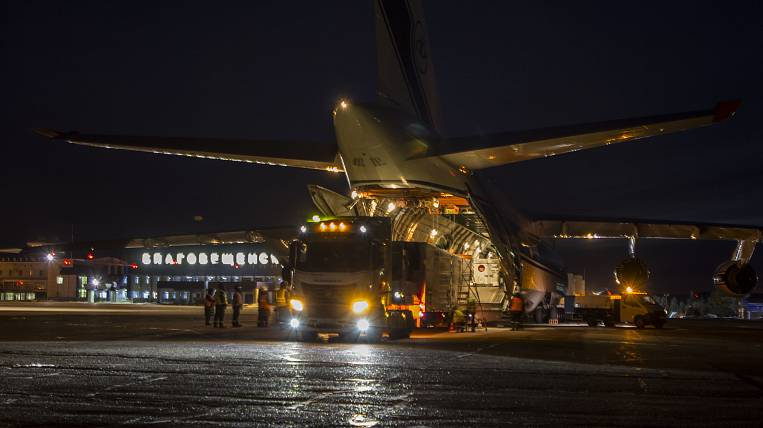 British satellites delivered to the Vostochny cosmodrome for launch