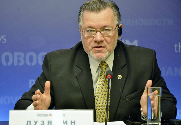 Sergey Luzyanin on the general space of the Russian Federation and the PRC