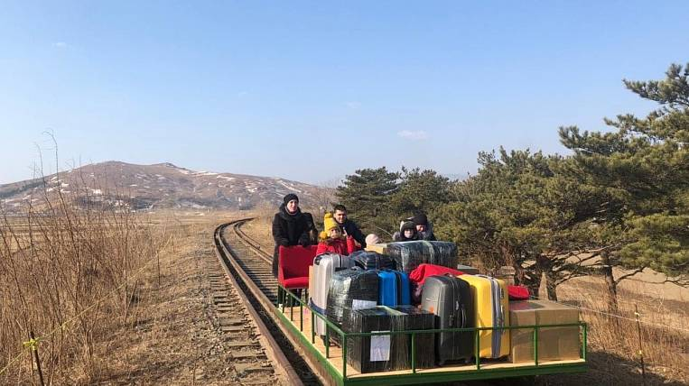 Drezina, bus, plane: Russian diplomats returned home from the DPRK