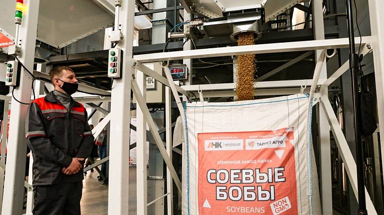 A new plant for the production of soybeans opened in the Amur Region