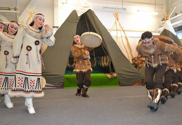 A large exhibition of furs and fur was held in Petropavlovsk-Kamchatsky