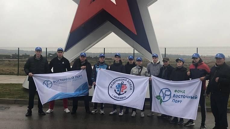 Vostochny Port Foundation organized a trip for Nakhodka boxers to an international tournament