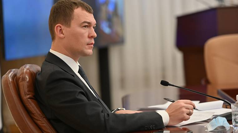 Degtyarev on the protesters in Khabarovsk: you are not in power here