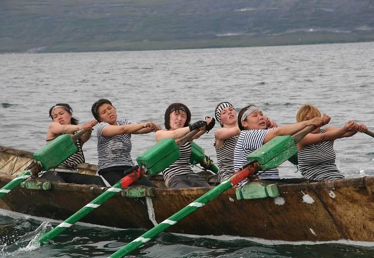 Beringia at the oars