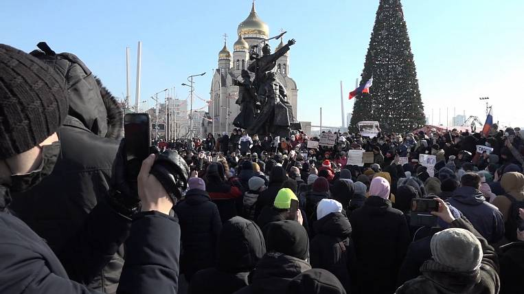 EastRussia Bulletin: Protest actions in Vladivostok and Irkutsk were the most massive