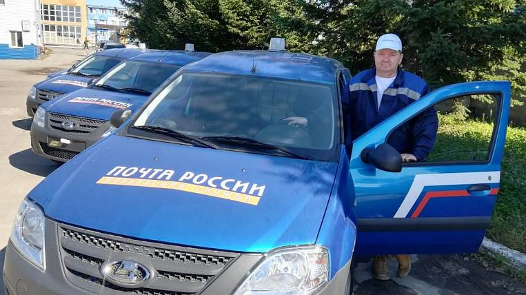 New cars received by Russian Post in the Khabarovsk Territory