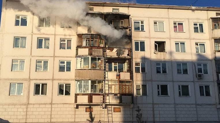 Взрыв газа произошел в многоэтажном доме в Якутске