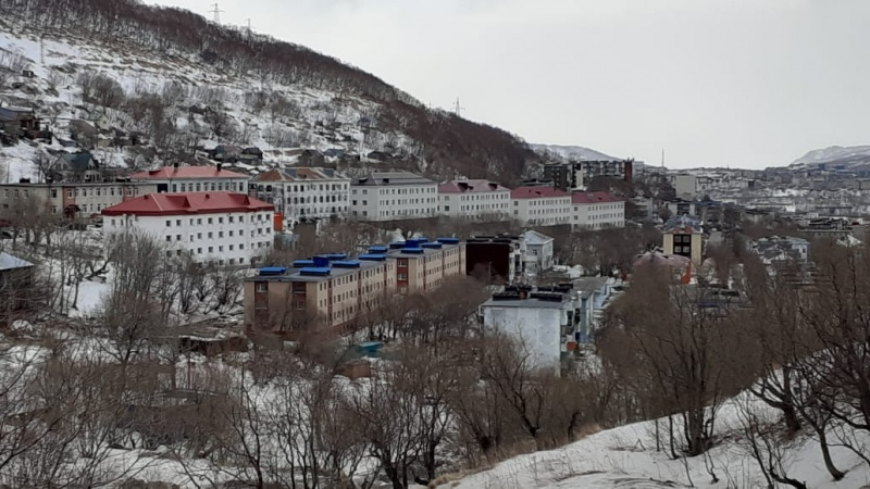 A storm in Kamchatka cut wires, knocked down trees and tore off the roofs of buildings
