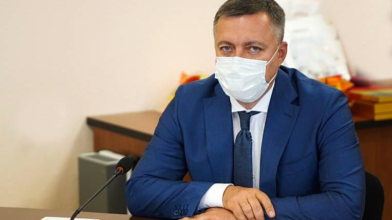 The governor of the Irkutsk region fell ill with coronavirus