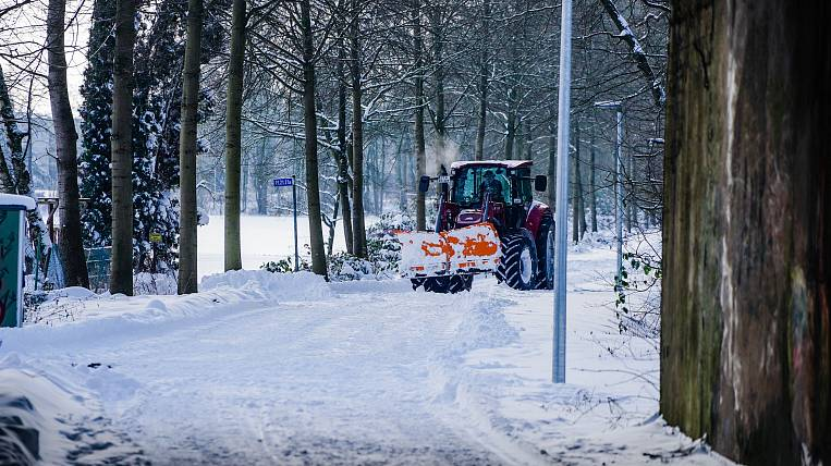 A criminal case was opened against a snow blower in the Amur region