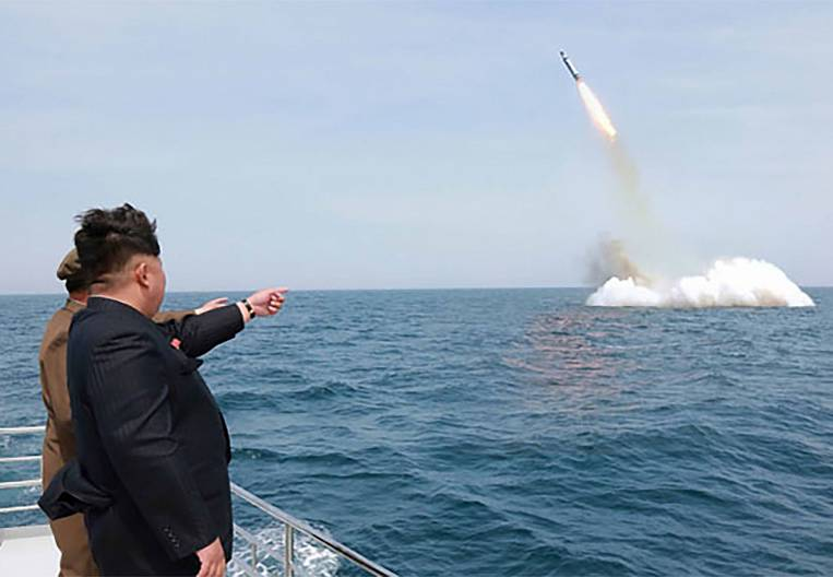 The fact of launching a missile from the territory of North Korea angered the neighbors and the US