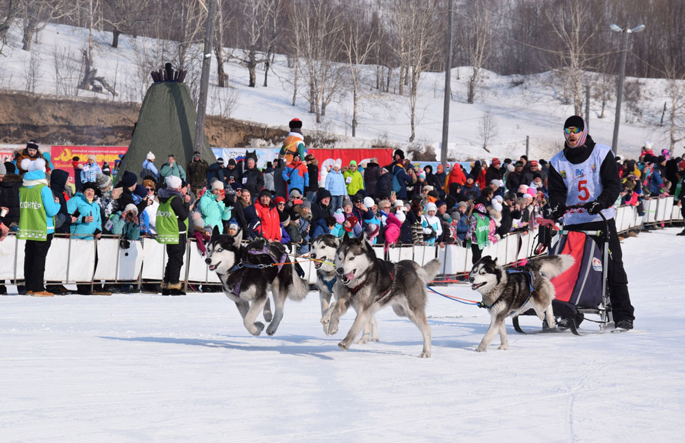 One such in Russia: The Elizovsky Sprint race took place in Kamchatka
