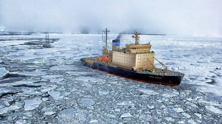 The first residents appeared in the Arctic zone of Russia