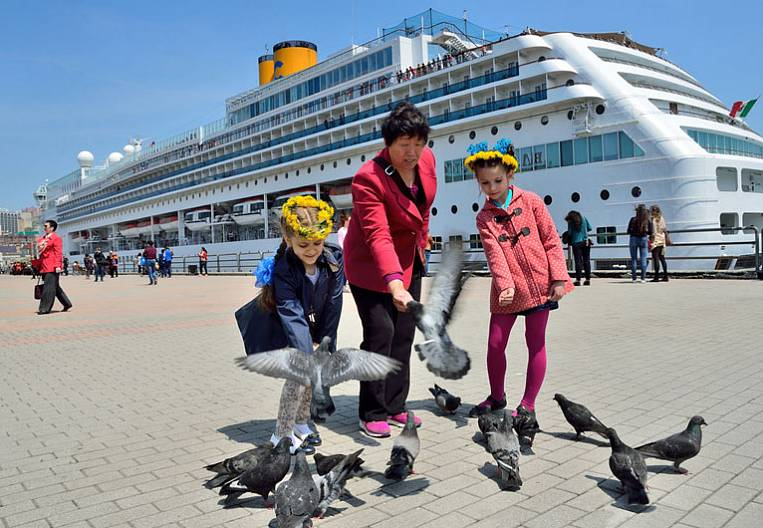 """Tourism in Primorye """"leaves"""" in the Chinese"""