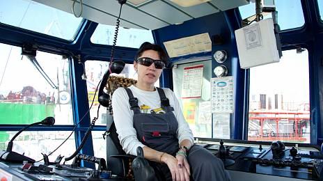 Queen of the towing fleet Oksana Spivak