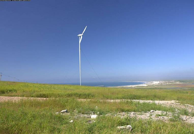 We open windmills on the island of Bering