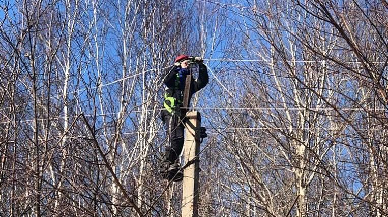 Primorsky power engineers restore electricity in the Khabarovsk Territory