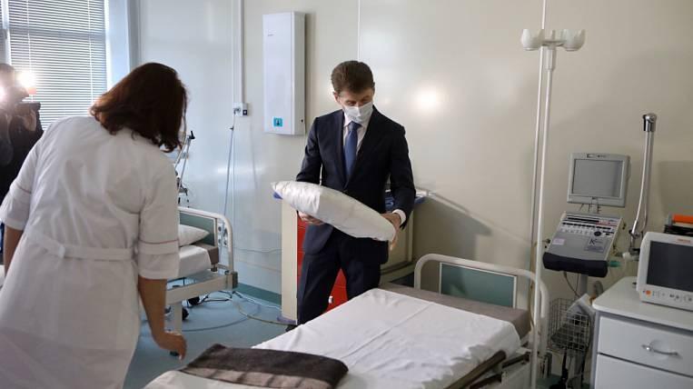 Инфекционный госпиталь на 400 коек открылся во Владивостоке - EastRussia    Дальний Восток