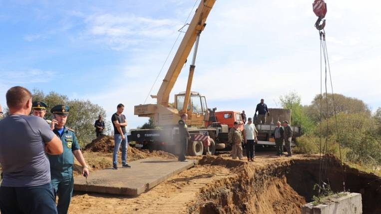 The evacuation of residents due to the threat of flooding took place in the village of JAO