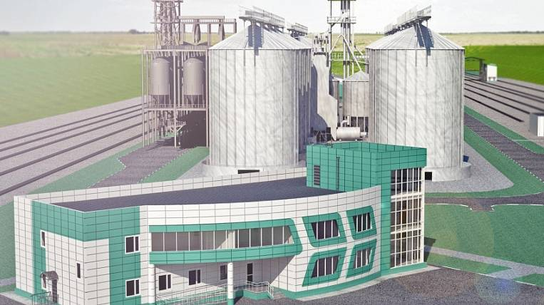 Grain railway terminal began to be built in Zabaikalsk