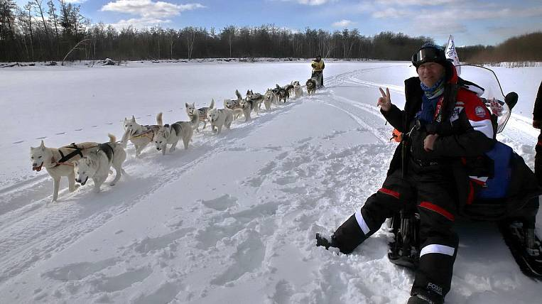 "All mushers of ""Beringia-2021"" started from the village of Esso"